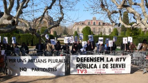 28M davant el Parlament